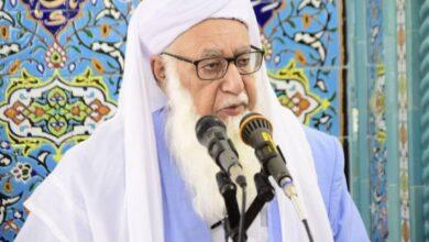 تصویر نامه مولانا عبدالحمید به رهبر معظم انقلاب دغدغۀ جامعه اهل سنت است