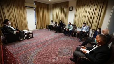 تصویر گزارش خبرنگار اولکامیز از دیدار با آیتالله نورمفیدی