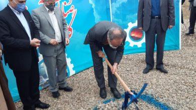 تصویر مراسم طرح توسعه کارخانه نورد فولاد گلستان برگزار شد