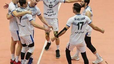 تصویر با مصاحبه رئیس فدراسیون والیبال مبنی بر ۱۶ تیم شدن لیگ برتر