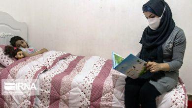 تصویر قرنطینه خانگی یار دوازدهم تیم درمان گلستان در مصاف با کرونا