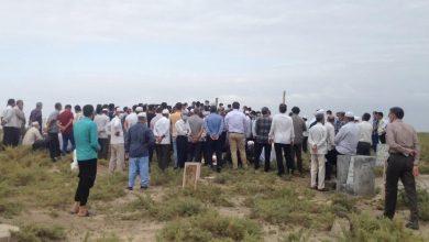 تصویر تصاویری از مراسم تدفین دکتر غیادی
