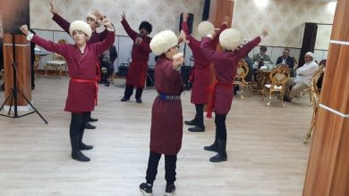 تصویر یک جشن دیگر به سبک جدید در ترکمن صحرا